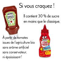 Accompagnements ketchup