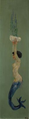 La sirène du peintre Max Klinger