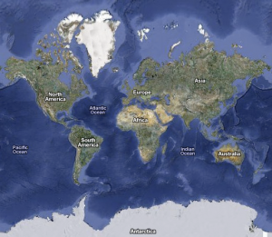 Le monde entier