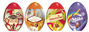 2012, les œufs par Sucard, Milka et Toblerone