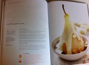 recette de poire au sirop - Blondes, Brunes et Rousses en cuisine ; éditions Féret