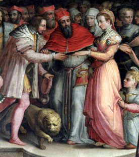 mariage de Catherine de Médicis et d'Henri III